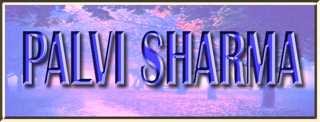Banner  PALVI SHARMA