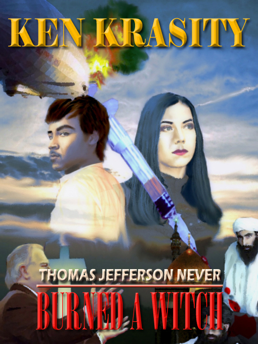 Cover for THOMAS JEFFERSON NEVER BURNED A WITCH