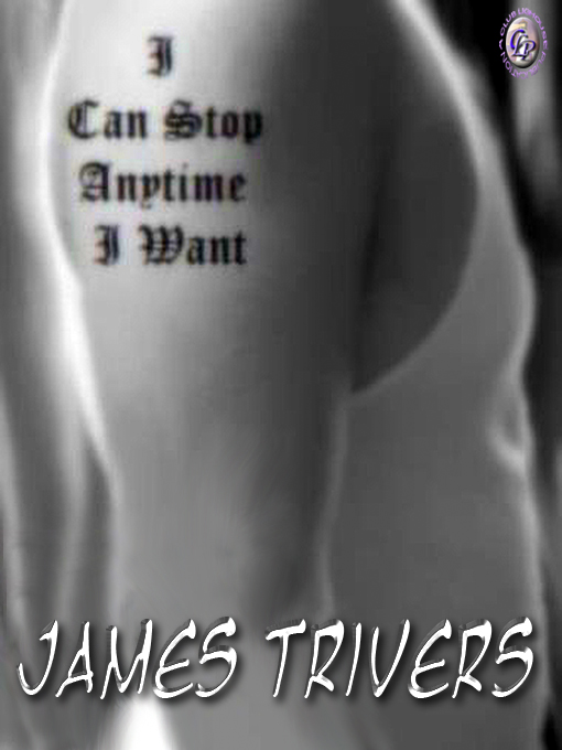 Cover for I CAN STOP ANYTIME I WANT
