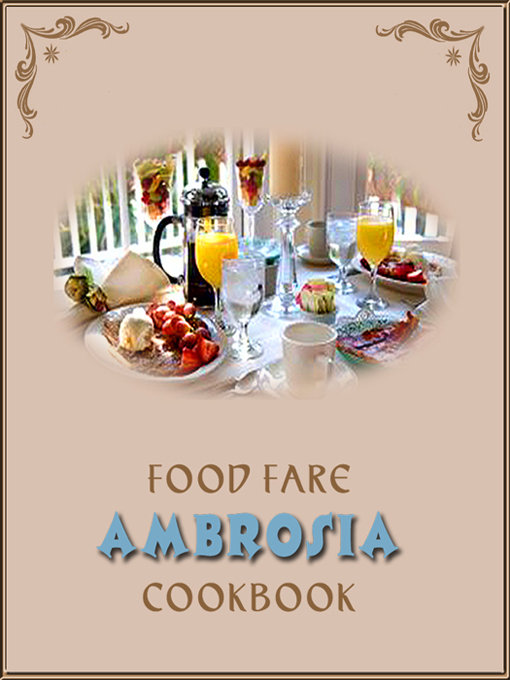 Cover for Ambrosia Cook Book