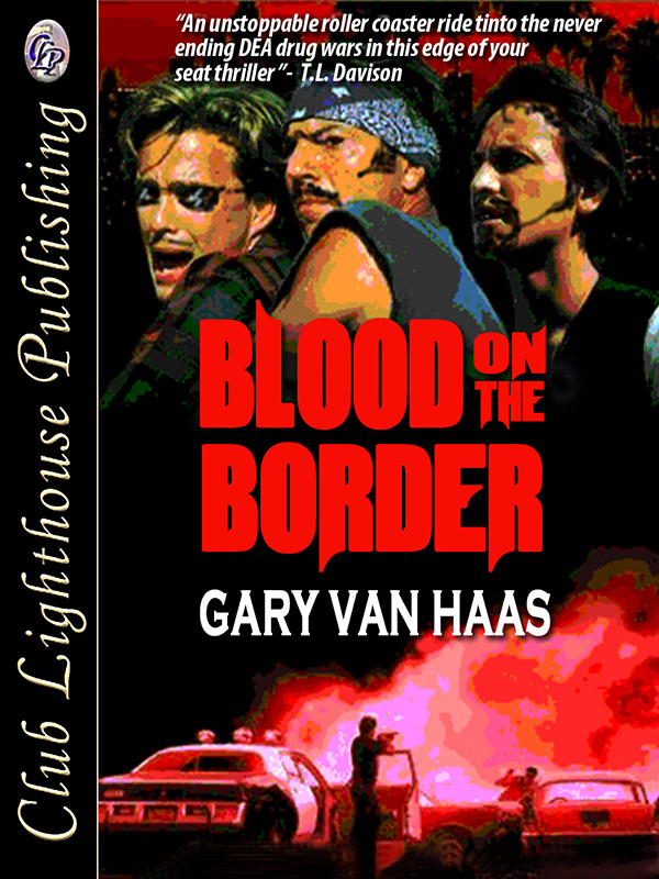 Cover for Blood on The Border